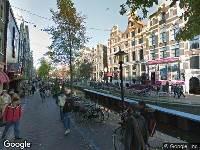 112 melding Brandweer naar Oudezijds Achterburgwal in Amsterdam