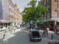 Ambulance naar Saenredamstraat in Amsterdam