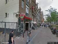 112 melding Politie naar Oudezijds Achterburgwal in Amsterdam vanwege vechtpartij