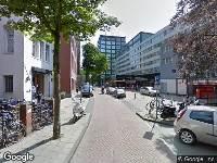 112 melding Ambulance naar Tesselschadestraat in Amsterdam