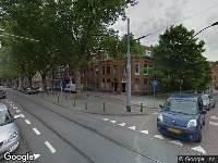 112 melding Ambulance naar Mathenesserlaan in Rotterdam