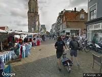112 melding Ambulance naar Markt in Delft