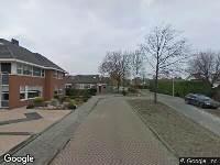 Brandweer naar Simon Luymesstraat in Nieuw-Vossemeer