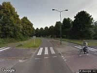 Politie naar Burgemeester van der Postlaan in Leusden vanwege aanrijding met letsel