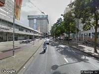 112 melding Brandweer naar Delflandlaan in Amsterdam vanwege een liftopsluiting