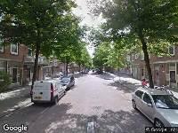 Traumahelikopter naar Gerrit van de Lindestraat in Rotterdam