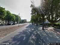 112 melding Brandweer naar Bentincklaan in Rotterdam vanwege een buitenbrand