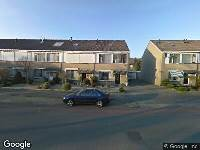 112 melding Besteld ambulance vervoer naar Verhulstlaan in Tilburg