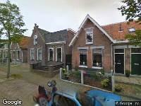 112 melding Brandweer naar Burgemeester Eschauzierstraat in West-Terschelling