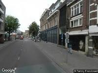 Brandweer naar Houtmarkt in Breda
