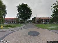 Traumahelikopter naar Wilgenlaan in Alphen aan den Rijn