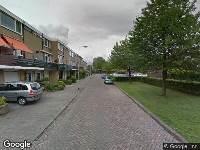 112 melding Ambulance naar Oudaenstraat in Ridderkerk
