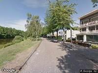112 melding Traumahelikopter naar Vijverlaan in Tilburg vanwege personen te water