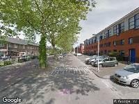 112 melding Brandweer en politie naar Stadhoudersstraat in Arnhem