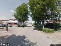 112 melding Brandweer naar Van der Giessenweg in Krimpen aan den IJssel vanwege gebouwbrand