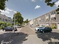 112 melding Besteld ambulance vervoer naar Clara Wichmannstraat in Ridderkerk