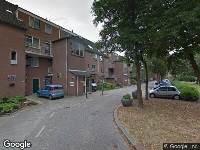 112 melding Brandweer naar Bergsonstraat in Rotterdam vanwege een buitenbrand