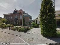 112 melding Besteld ambulance vervoer naar Rotterdamseweg in Zwijndrecht