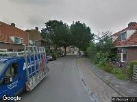 112 melding Brandweer naar Tjerk Hiddesstraat in Leeuwarden vanwege brand