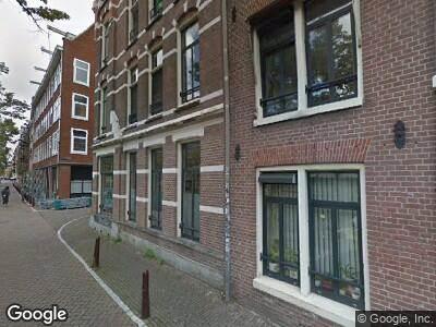 Ambulance naar Lijnbaansgracht in Amsterdam