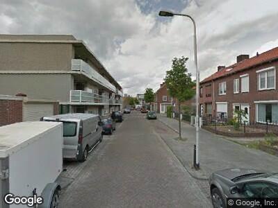 Ambulance naar Jan van Riebeeckstraat in Tilburg