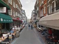 112 melding Ambulance naar Leidsekruisstraat in Amsterdam