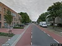112 melding Brandweer naar Treubstraat in Rijswijk vanwege brand