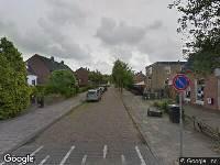 112 melding Brandweer naar Willem Sprengerstraat in Leeuwarden vanwege verkeersongeval