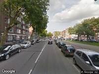112 melding Ambulance naar Mathenesserweg in Rotterdam