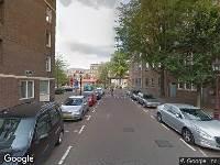 112 melding Besteld ambulance vervoer naar Bokkinghangen in Amsterdam