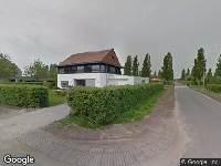 112 melding Brandweer en politie naar John Grosmanstraat in Arnhem