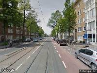 Ambulance naar Stadionweg in Amsterdam