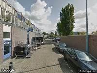 112 melding Brandweer naar Beneluxplein in Alkmaar vanwege een buitenbrand