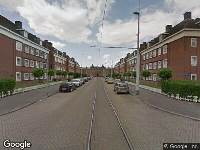 112 melding Brandweer naar Huygensstraat in Rotterdam