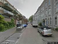 112 melding Ambulance naar Banierstraat in Rotterdam