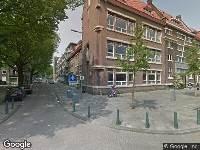 112 melding Ambulance naar Mathenesserstraat in Rotterdam