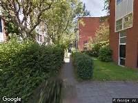 112 melding Ambulance naar Watervalplein in Amsterdam