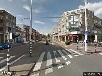 112 melding Brandweer naar Jonker Fransstraat in Rotterdam vanwege waarnemen gaslucht