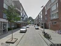 112 melding Besteld ambulance vervoer naar Berkelstraat in Rotterdam
