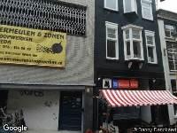112 melding Ambulance naar Sint Janstraat in Breda