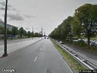 Ambulance en brandweer naar Europaweg in Groningen vanwege voertuigen te water