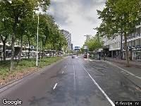 112 melding Ambulance naar Westblaak in Rotterdam