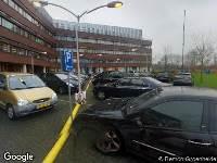 112 melding Besteld ambulance vervoer naar Vlietlandplein in Schiedam