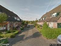 112 melding Brandweer naar Houtdraaierstraat in Alkmaar