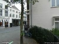 Brandweer naar Veemarktstraat in Breda