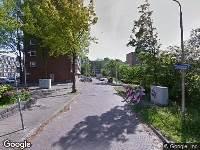 112 melding Brandweer naar Herculesweg in Delft vanwege gebouwbrand
