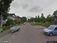Ambulance naar Van Goghstraat in Reeuwijk