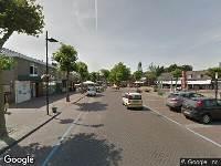 Ambulance naar Wilhelminaplein in Someren