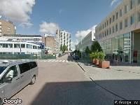 112 melding Besteld ambulance vervoer naar Montessoriweg in Rotterdam