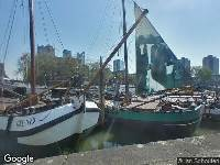 112 melding Politie naar Leuvehaven in Rotterdam vanwege letsel